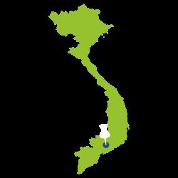 Vietnam map icon
